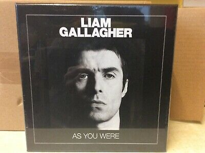 """Liam Gallagher As You Were 7"""" Collector Edition Vinyl Box Set Single Noel Oasis"""