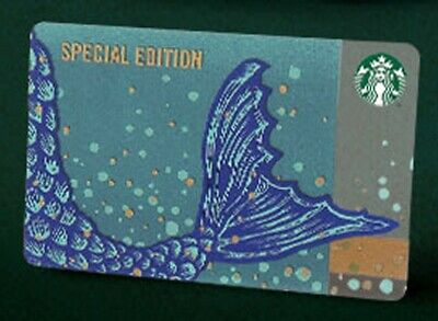 Starbucks Malaysia Card Anniversary Blend Siren Tail Special Edition 2019
