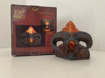 NECA Lord of the Rings Balrog Ancient Demon of Fire Illuminating Votive Holder
