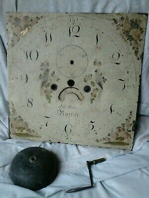 Grand father long case clock movement