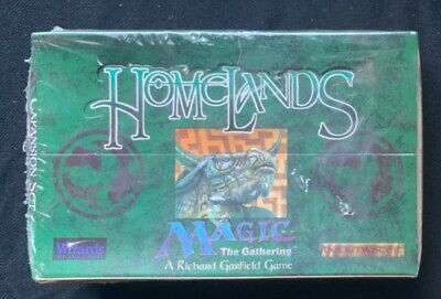 MTG Magic The Gathering Homelands Booster Box Factory Sealed English