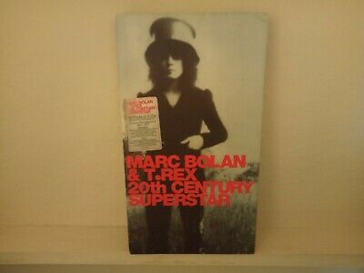 Marc Bolan & T.Rex: 20th Century Superstar Edsel 4 CD box set