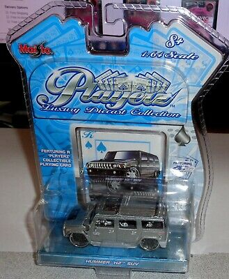 2004 Maisto Playerz Luxury Die Cast Collection Hummer H-2 SUV