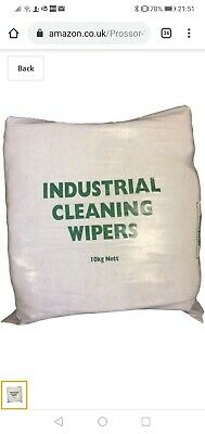 Cotton Cleaning Cloth Tshirt Rags Wipers Polishing  Workshop 10kg free delivery