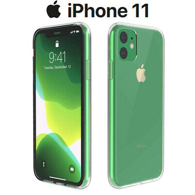 Funda Carcasa Gel Silicona Transparente para iPhone 11
