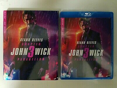 JOHN WICK-CHAPTER 3 (BLU-RAY & DVD) Slipcover