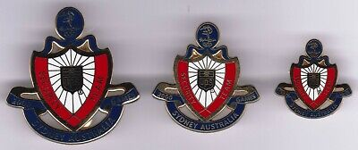 Sydney 2000 Olympic Games - Ups - Team Security Set Of 3 Pins - Gold