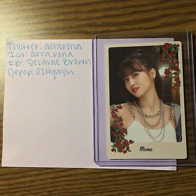 TWICE YES OR YES Monograph Official MOMO PHOTOCARD