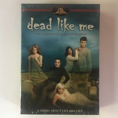 DEAD LIKE ME - SEASON TWO 2 complete - DVD tv show - 4 DISCS - sealed NEW