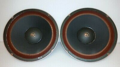 """EV Electro-Voice 12BW Vintage 12"""" WOOFER PAIR 8 OHM From Esquire 200"""