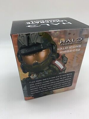 Halo Legendary Loot Crate Jorge-052 Screen Shots Halo Icon Figure Series 3