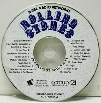 The Rolling Stones - 19 Greatest Radio Hits [ US Promo For broadcast only Rock ]