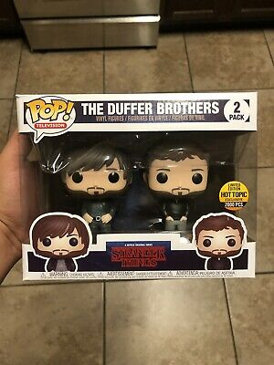 Funko Pop! The Duffer Brothers Stranger Things Hottopic 2000 Pcs New Sealed
