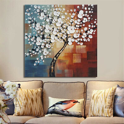 Framed Flower Tree Abstract Canvas Print Paintings Wall Picture Art Home B