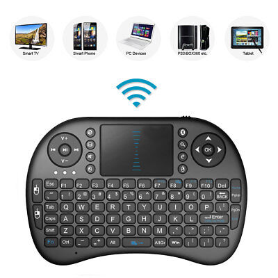 """2.4GHz Wireless Keyboard with Touch Pad for JVCLT-32C691 32"""" SMART TV"""