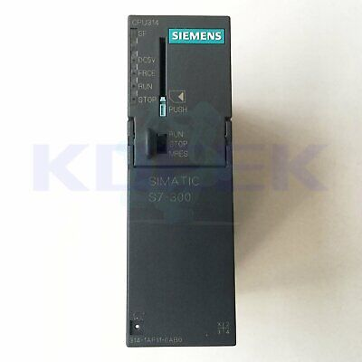 Used Siemens PLC module 6ES7 314-1AF11-0AB0 Tested It In Good Condition