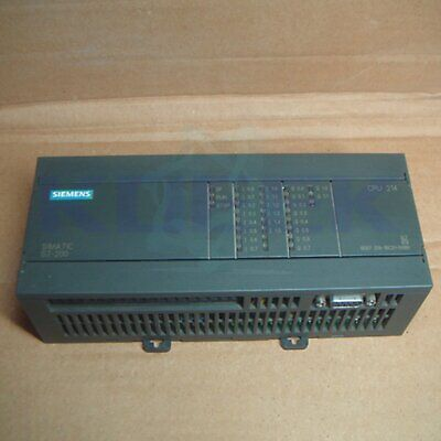 Used Siemens PLC Module 6ES7 214-1BC01-0XB0 Tested in Good Condition