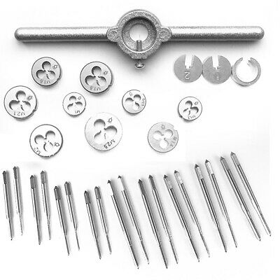 31pcs HSS Mini Tap Die Thread Wire Tapping Threading Grinding Carving Tool New