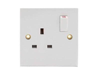 1 Gang Switched Electric Socket
