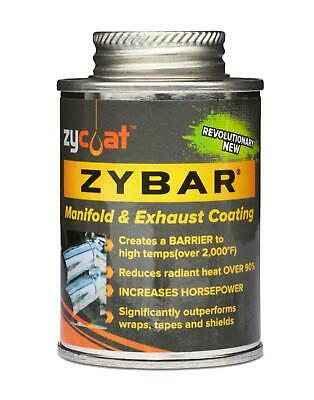 ZYCOAT LLC 11004 Thermal Barrier Coating, ZyBar, Black Matte, 4 oz., Each