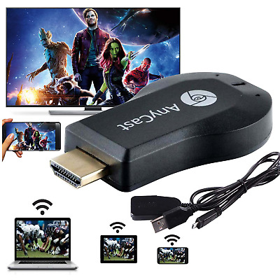 WiFi HDMI 1080P Anycast Miracast Airplay TV Wireless Display DLNA Dongle Adapter