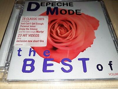 Depeche Mode - The Best Of Vol. 1 - CD+DVD - Hits/Singles / Collection/Videos -