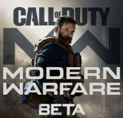 Call of Duty Modern Warfare BETA/EARLY ACCESS CODE + Captain Price - PS4 PC Xbox