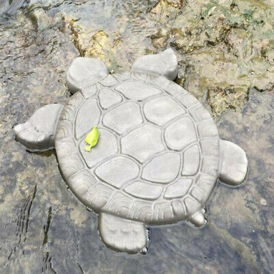 4pcs Molds Turtle Stepping Stone Concrete Mould ABS Tortoise for garden path#S24
