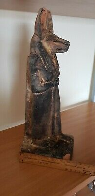 Antique Early 1900 Egyptian  Stone Sculpture Head Bust