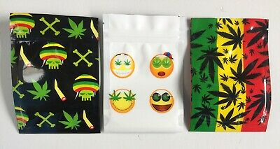 Smell Proof Aluminium Lined Sealy Reuse-able Zip Lock Bag Weed Baggies