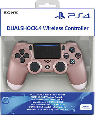 Controller Sony Wireless Ps4 Dualshock 4 Pad Rose Gold Playstation 4 Oro V2