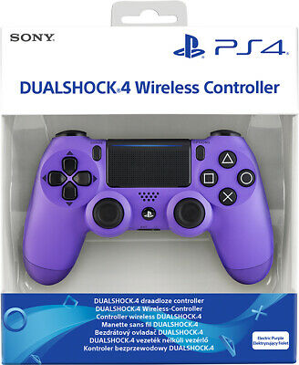 Controller Sony Wireless Ps4 Dualshock 4 Pad Electric Purple Playstation 4 V2