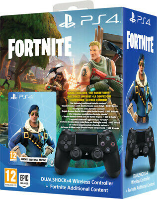 Controller Sony Wireless Ps4 Dualshock 4 Pad Playstation 4 V2 + Fortnite Vch