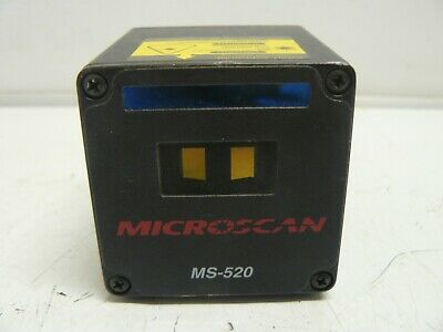 Microscan Ms-520 Barcode Scanner Scan Head High Speed