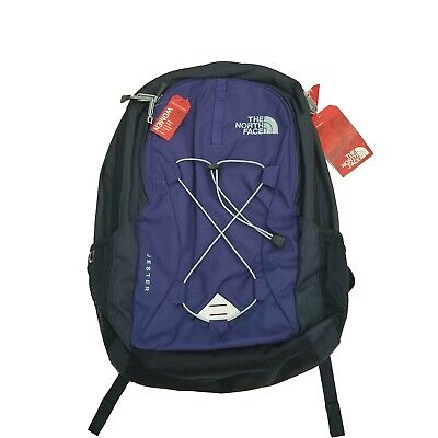 The North Face Jester School Backpack Womens Brit Navy Blue