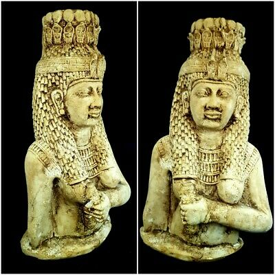 Ahmose - Nefertari Statuette First Queen Of 18 Dynasty Rare Egypt Antiques Bust