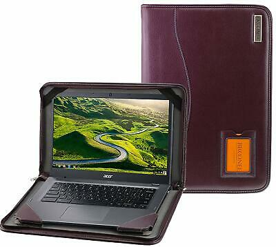 Broonel Purple Leather Case For The Acer Spin 5 NUEVO