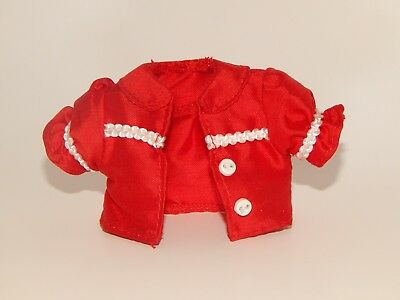 Barbie Doll Fashion Model Muse Clothes Hello Kitty Red Crop Jacket