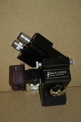 "Bausch & Lomb Signatone Model S-250-6""M Sub-Micron Analytical Probe Station"