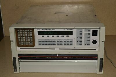 ASTRO-MED MT 95000 MT95000 Eight Channel Real Time Chart Recorder (#1)