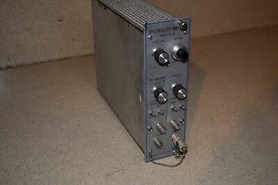 Canberra Spectroscopy Amplifier Model 1417B Nim Bin Plug In (Tp47)