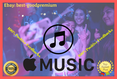 🔥Apple Music ♨Itunes Music♨ 3Months 100% PERSONAL 💯 NOT Shared 🌐WWide Ultra F