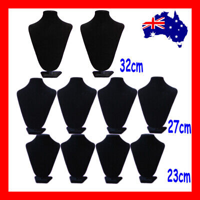 Necklace Bust Stand PADDED Reliable | 10pcs SUPER DEAL | Large | AUSSIE Seller