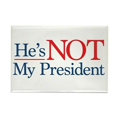 5 Pack *Oval Car Magnet* Trump 2020 Not My President Impeach Trump TO429