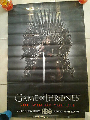 Game Of Thrones Season 1 Hbo 2011 Movie Poster 24x36 New