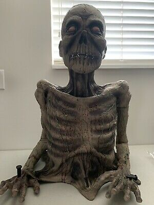 Life Size Rubber Zombie Halloween
