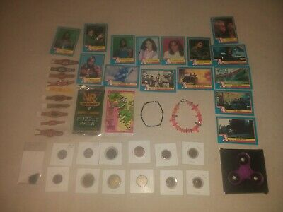 Junk drawer lot. Coins, Tokens, Cards, Jewelry and more