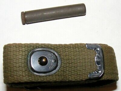 Original WWII U.S. Govt. Issue. M1 Carbine SLING & OILER