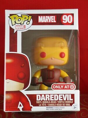 Funko Pop Target Exclusive #90 Yellow Daredevil Marvel