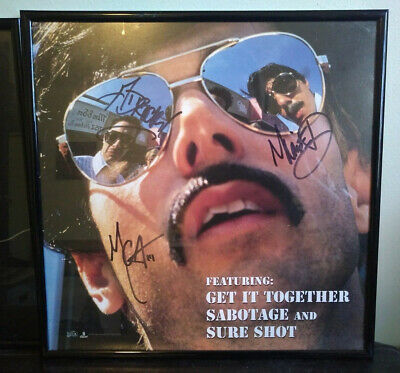 Beastie Boys Signed iLL Communication Promo Flat